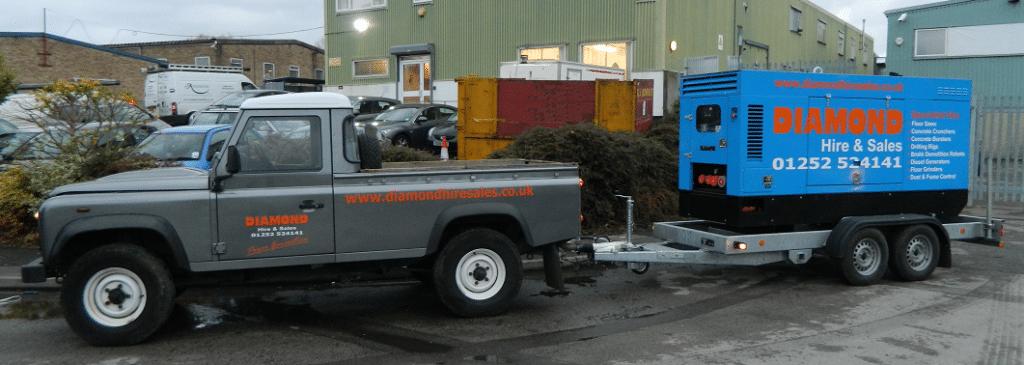 115 KVA Diesel Generator