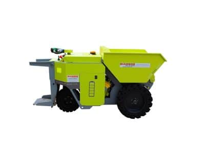 Ecovolve Rechargeable Electric 1 Tonne Skip Loader Dumper