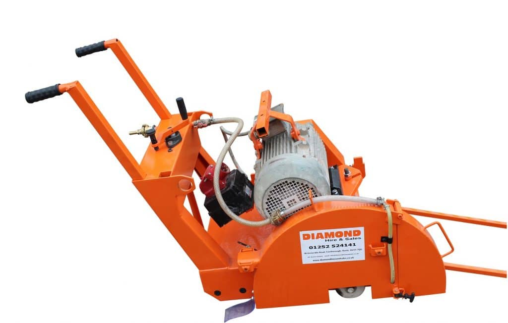 Small Electric Floor Saw