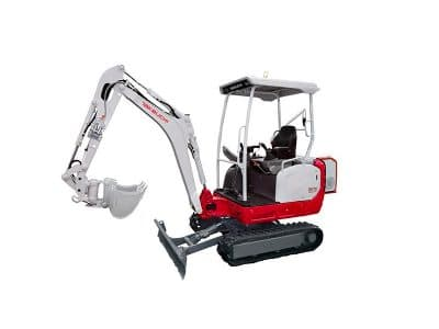 Takeuchi TB216 Diesel Electric Hybrid Mini Excavator