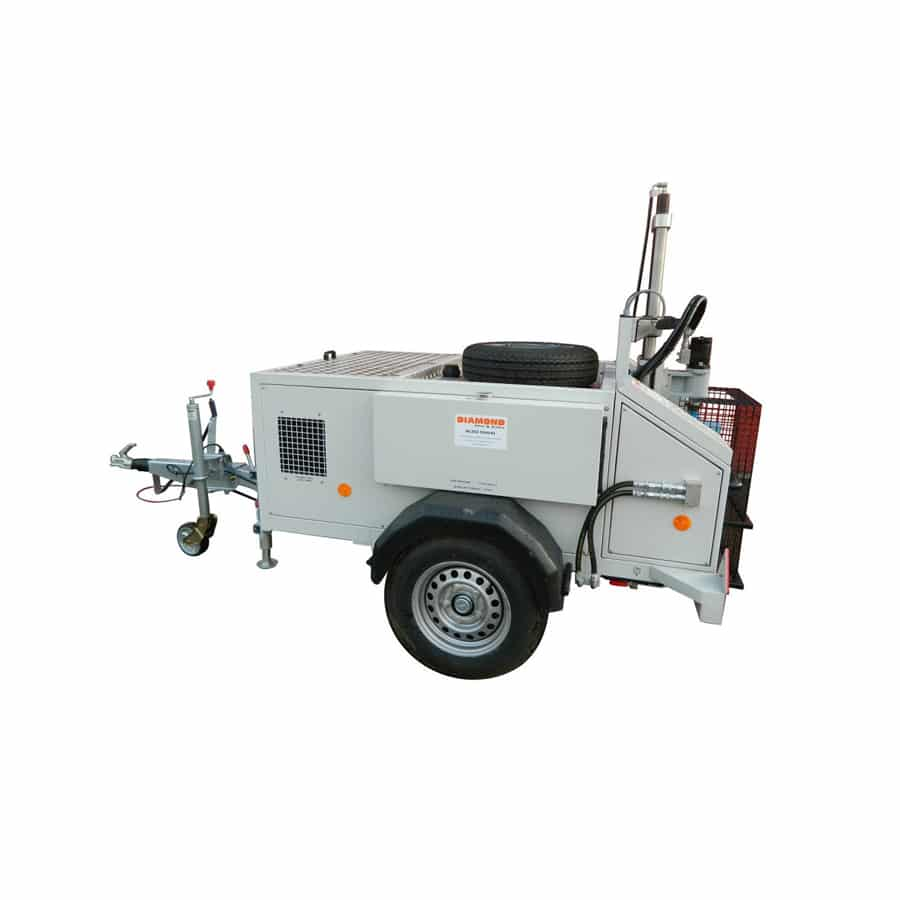 Trailer Mounted Diamond Drilling Rig 600mm