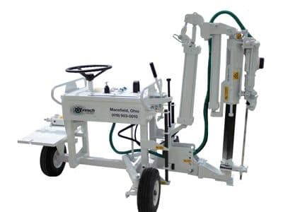Slab Rider Rock Drilling Machine