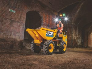 JCB E-TECH 1TE Electric Dumper