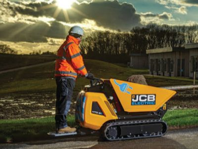 JCB HTD-5E Electric Dumpster