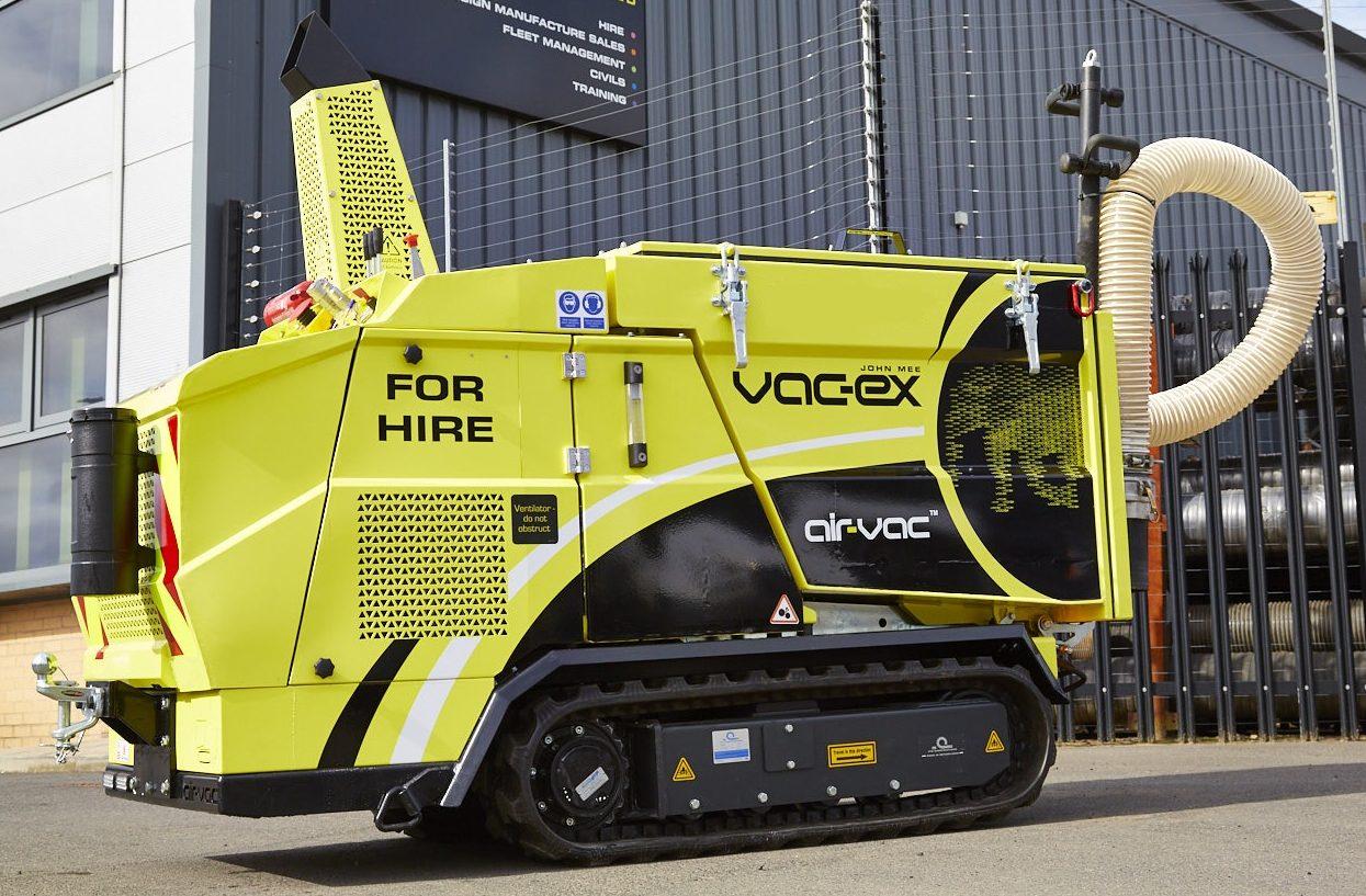Air Vac Track Vacuum Excavator