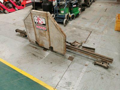 Dimas WS325 Hydraulic Wall Saw/Track Saw- Manual